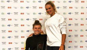 Lauren at the British Open