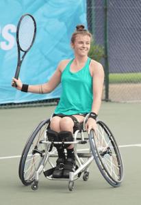 Lauren Jones - Ladies Wheelchair Tennis Player