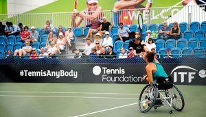 Lauren Jones wheelchair tennis player